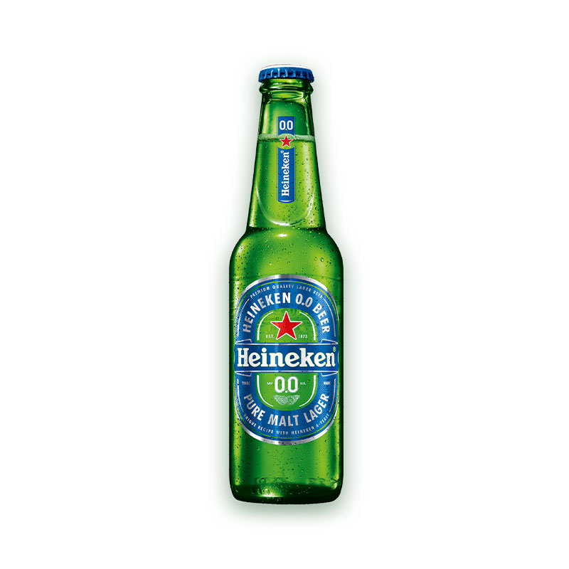 تصویر آبجو بدون الکل کلاسیک هاینکن ۳۳۰ میلی لیتر