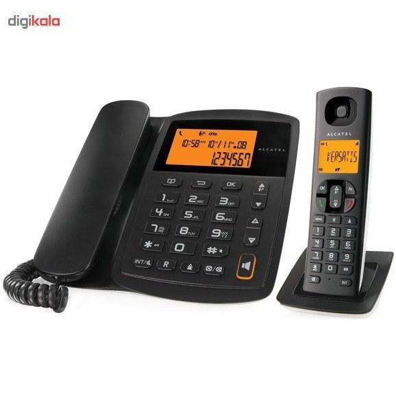 img تلفن آلکاتل ای ۱۰۰ سی جی ۷ Alcatel Versatis E100 CG7 Combo Phone