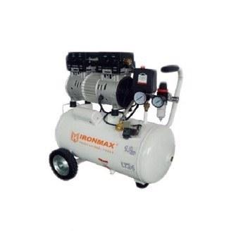 تصویر کمپرسور باد بی صدا آیرون مکس مدل LT24 IRONMAX LT24 Air Compressor