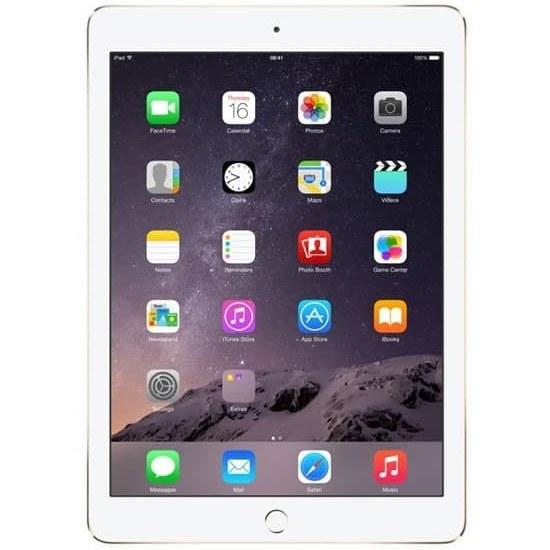 تصویر تبلت اپل مدل iPad 2 WiFi ظرفیت 16 گیگابایت استوک