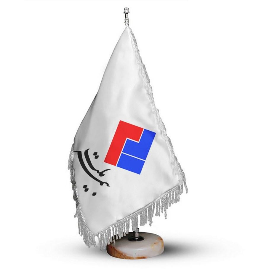 تصویر پرچم تشریفات و رومیزی بیمه ملت کد PR180