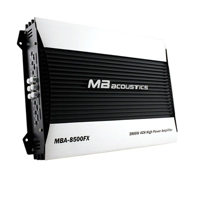 تصویر آمپلی فایر ام بی آکوستیک مدل MBA-8500FX MB Acoustics MBA-350T8500FX Car Amplifier
