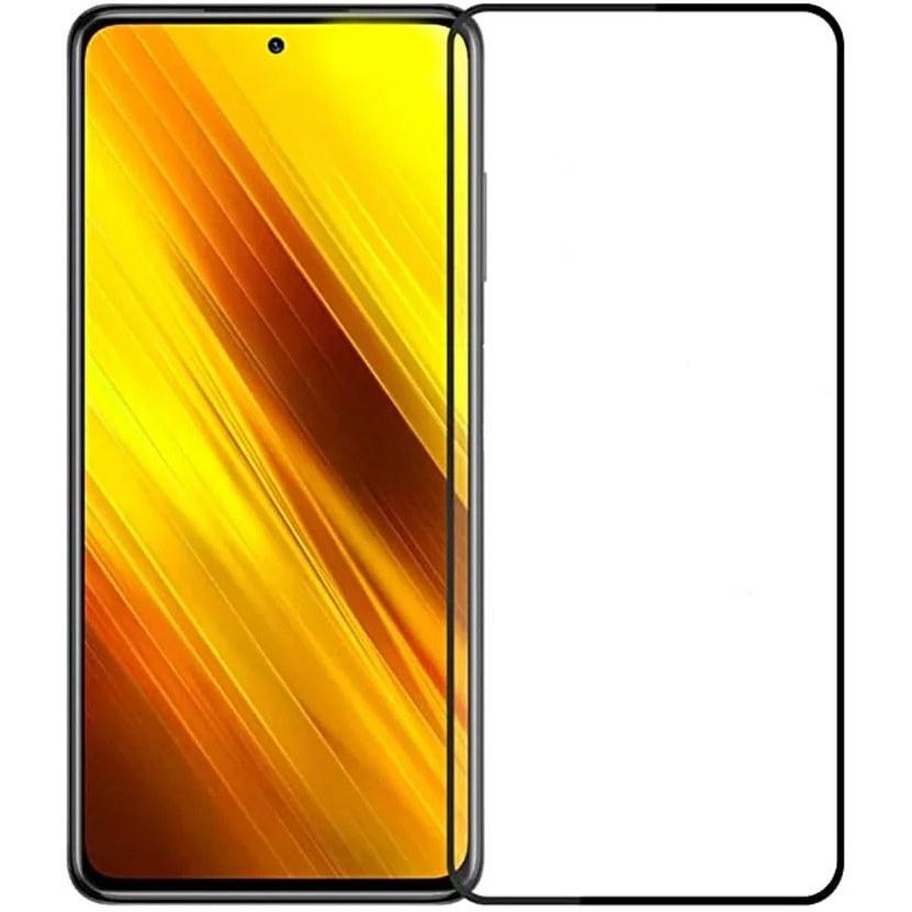 تصویر محافظ گلس تمام صفحه گوشی شیائومی پوکو Xiaomi POCO X3 NFC