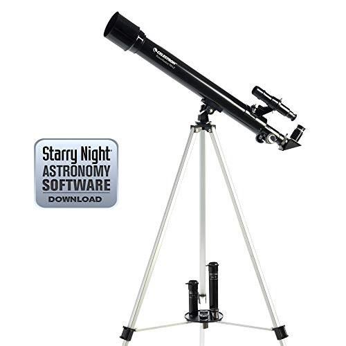 تصویر Celestron PowerSeeker 50 AZ Refractor Telescope