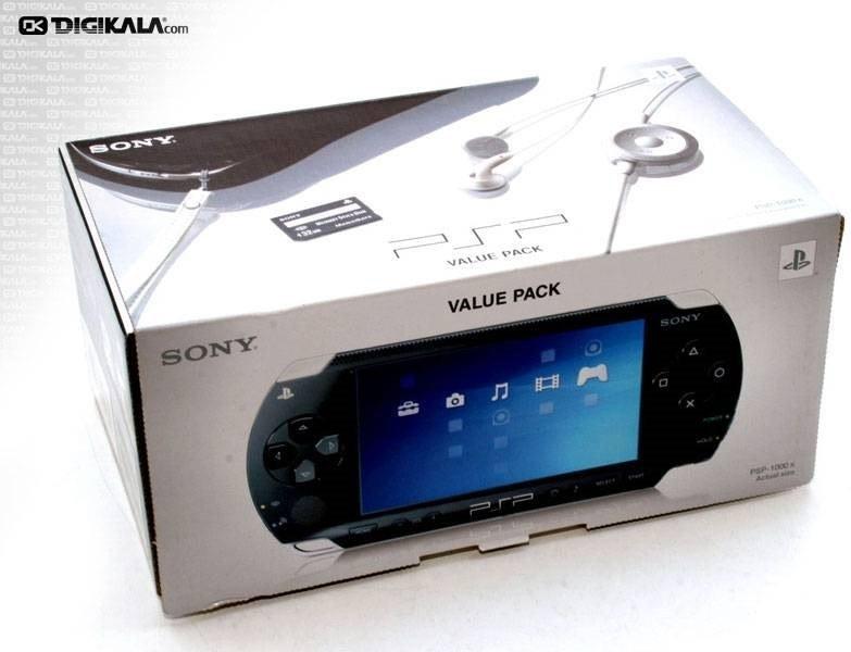 تصویر سونی پلی استیشن پورتابل (پی اس پی) - فت Sony PlayStation Portable (PSP) - Fat