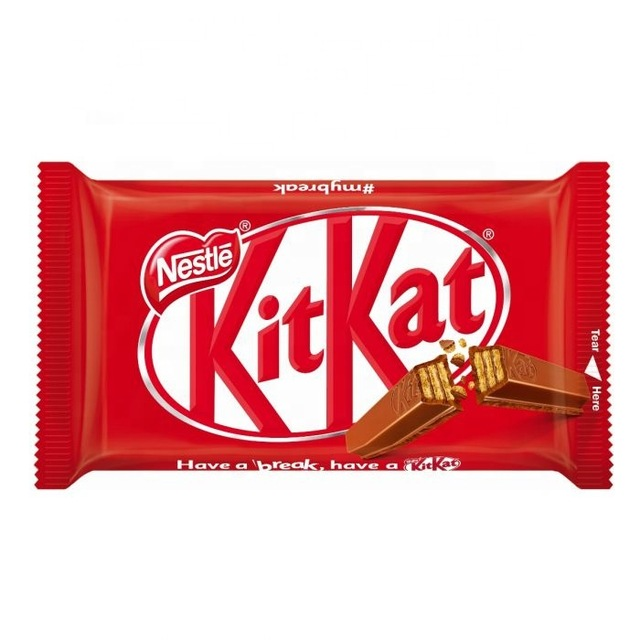 KitKat پک ۲۴ عددی شکلات کیت کت ۴ انگشتی اصل