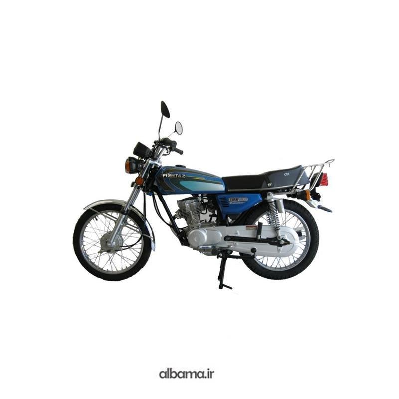 تصویر موتور سیکلت 125 پیشتاز