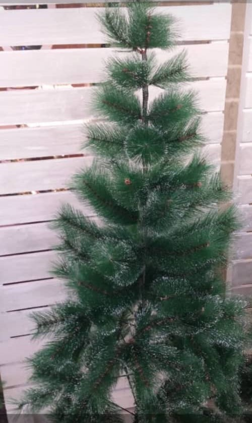 درخت کریسمس سوزنی نوک برفی 150 سانتی متر