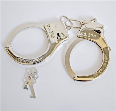 دستبند فلزی پلیس |