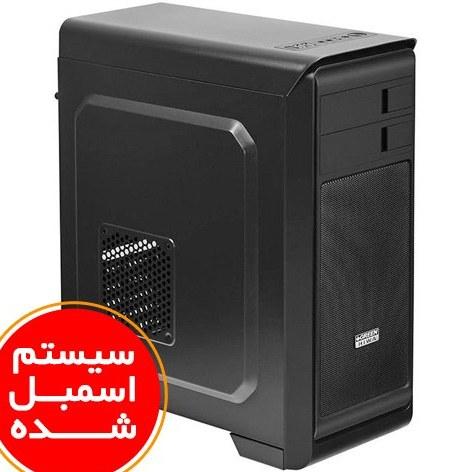 تصویر سیستم اسمبل شده ایسوس مدل A6 با پلتفرم اینتل گرافیک 1 گیگابایت PC A6 ASUS i5(9400F) 8GB(2400) RAM 240GB SSD
