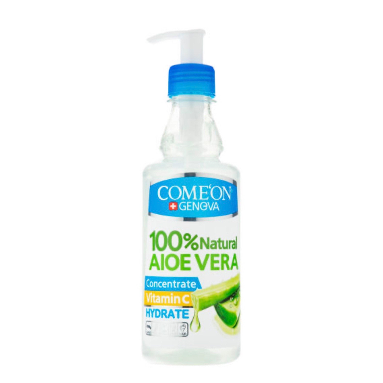 تصویر کنسانتره آلوئه ورا کامان Comeon Comeon Aloevera Hydrate Concentrate 400 ml