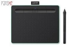 تصویر تبلت گرافیکی و قلم نوری وکام سایز کوچک مدل اینتوس CTL-4100 Wacom Intous CTL-4100 Small Pen Tablet