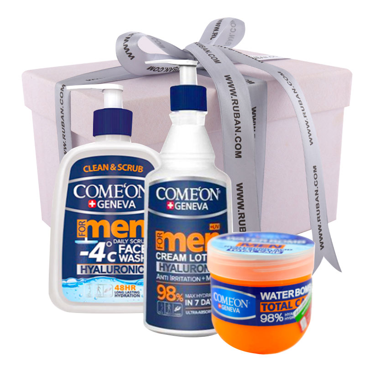 تصویر پک کادویی برای آقایان محصولات کامان Comeon Gift Pack
