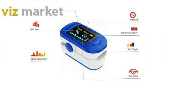 تصویر پالس اکسیمتر اکیوریت مدل FS20c آلارم دار Accurate Pulse Oximeter FS20C With Alarm