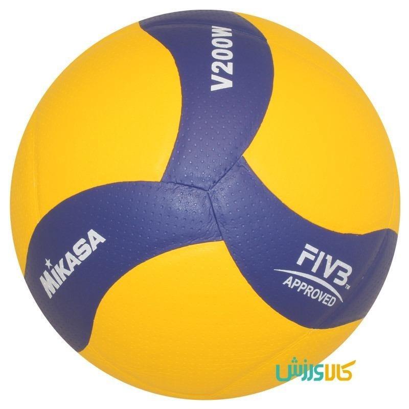 تصویر توپ والیبال میکاسا مدل V200W