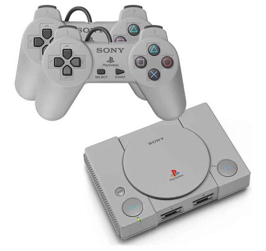 تصویر کنسول بازی سونی مدل PlayStation Classic Sony plastation Classic