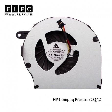 تصویر فن لپ تاپ اچ پی HP Presario CQ42 Laptop CPU Fan برد سبز