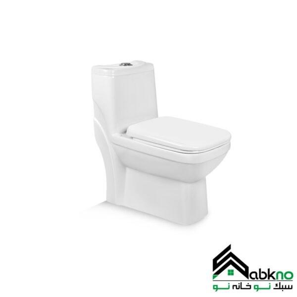 تصویر توالت فرنگی مروارید مدل یاریس بیده دار  توالت فرنگی مروارید مدل یاریس بیده دار