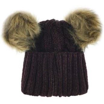 کلاه بافتنی دخترانه کد P3346 |