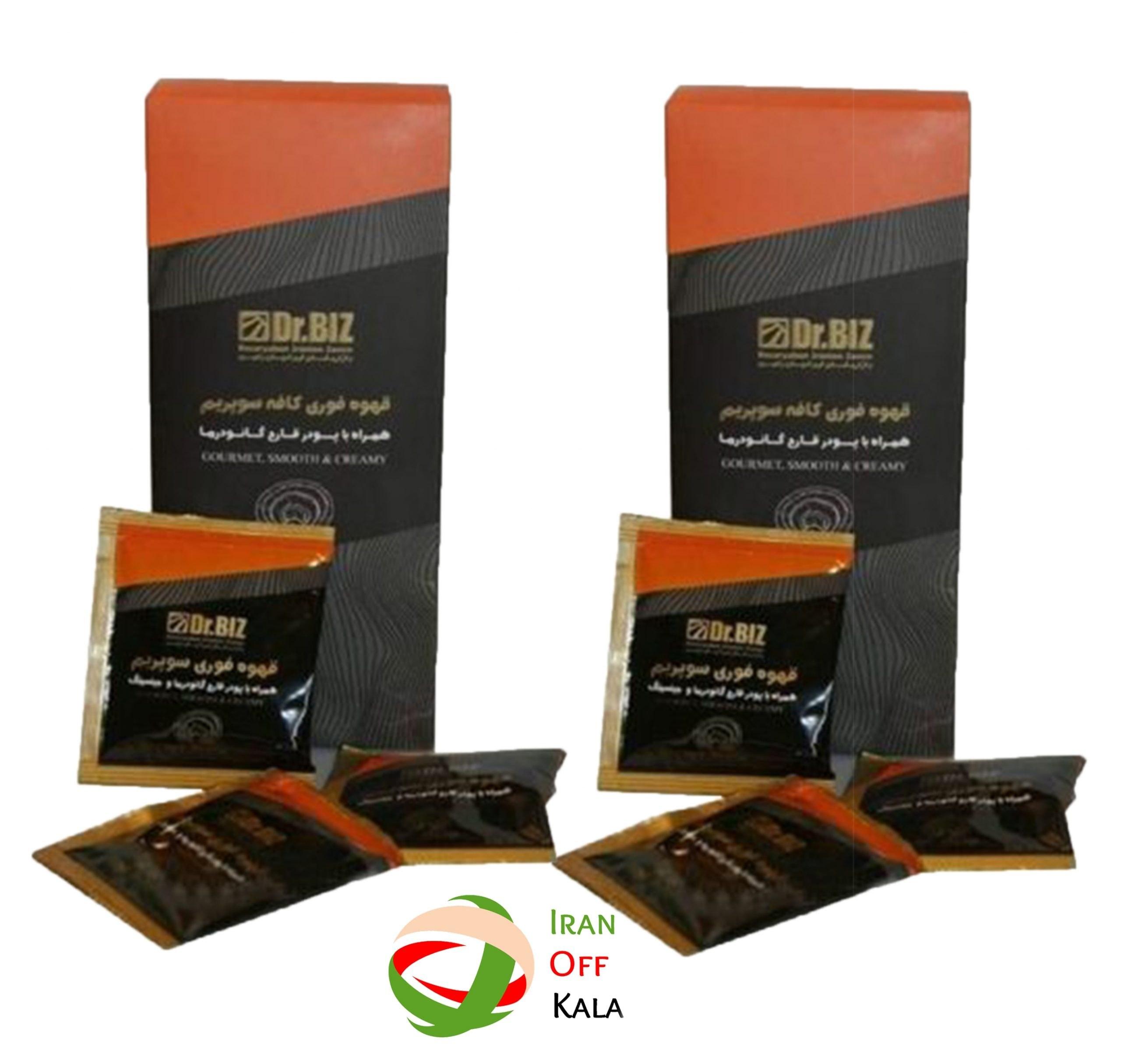تصویر پک دوتایی قهوه سوپریم دکتر بیز Superior Coffee Double Pack Dr. Biz