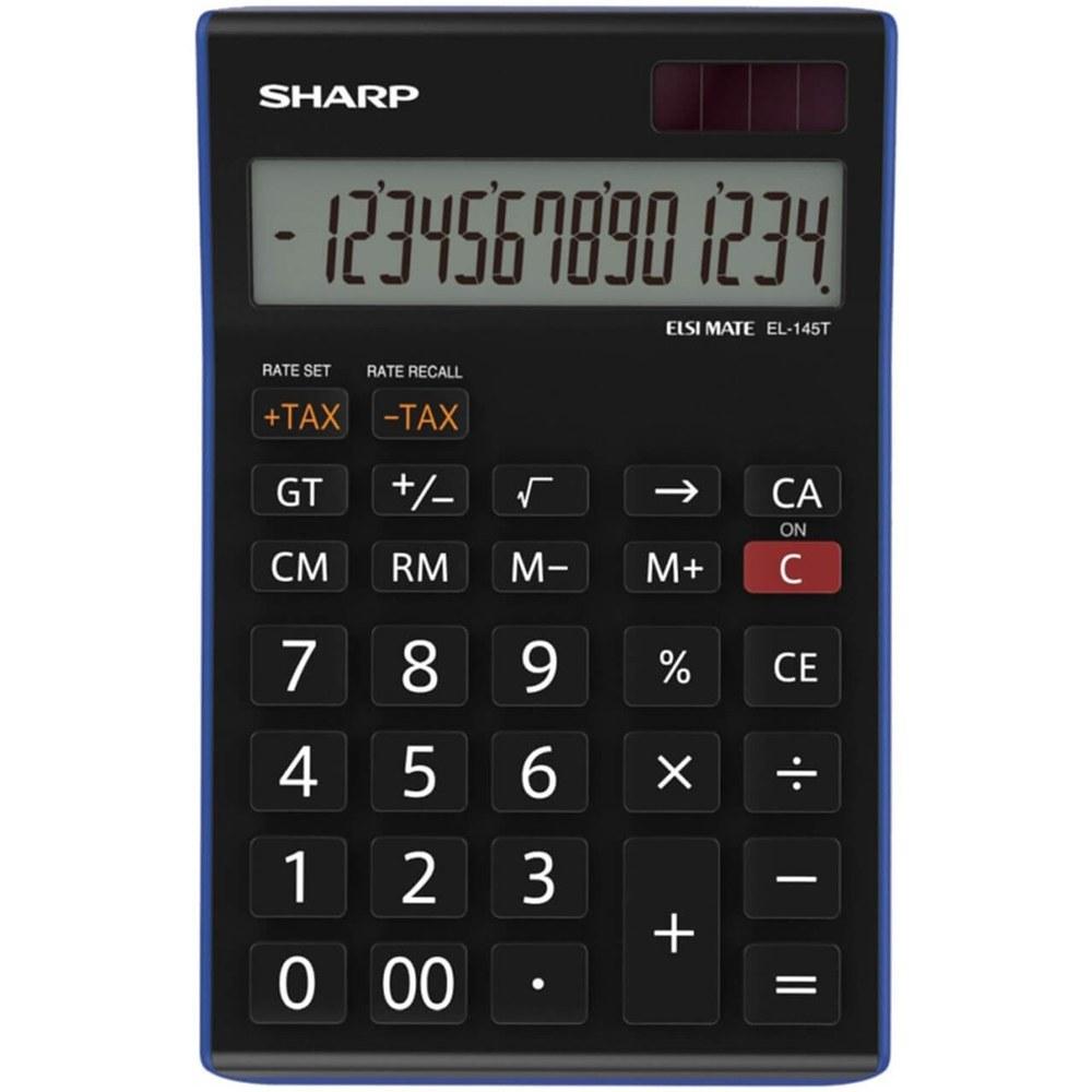 تصویر ماشین حساب شارپ (SHARP) مدل EL - 145