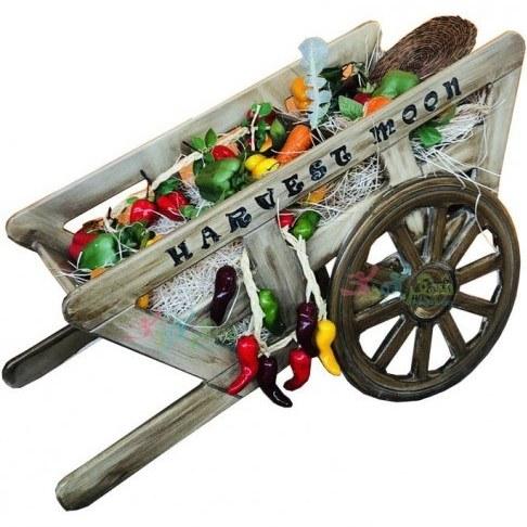 گاری اسباب بازی چوبی کودک |