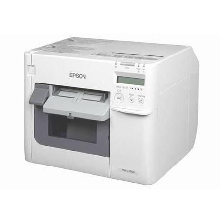 تصویر لیبل پرینتر رنگی Epson C3500