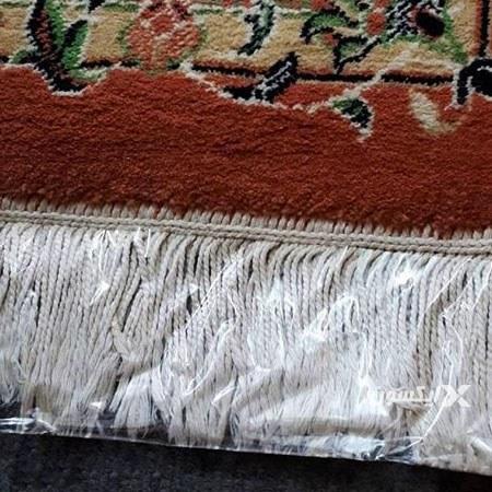 تصویر کاور نایلونی ریشه فرش