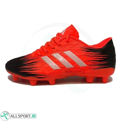 کفش فوتبال آدیداس سایز کوچک طرح اصلی قرمز مشکی Adidas Red B 2018