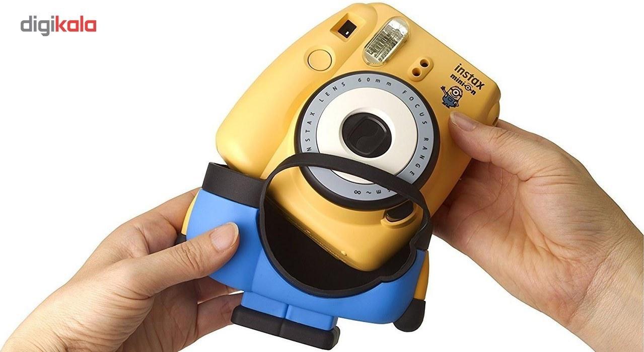 تصویر Fujifilm Instax Minion Instant Camera دوربین عکاسی چاپ سریع فوجی فیلم مدل Instax Minion