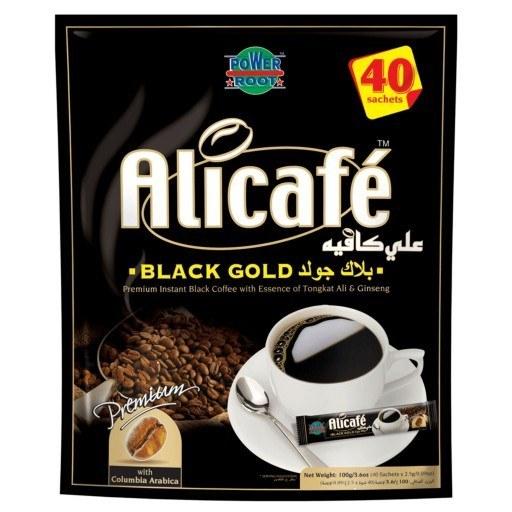 تصویر پودر قهوه علی کافه Belak Gold بسته ۴۰ عددی
