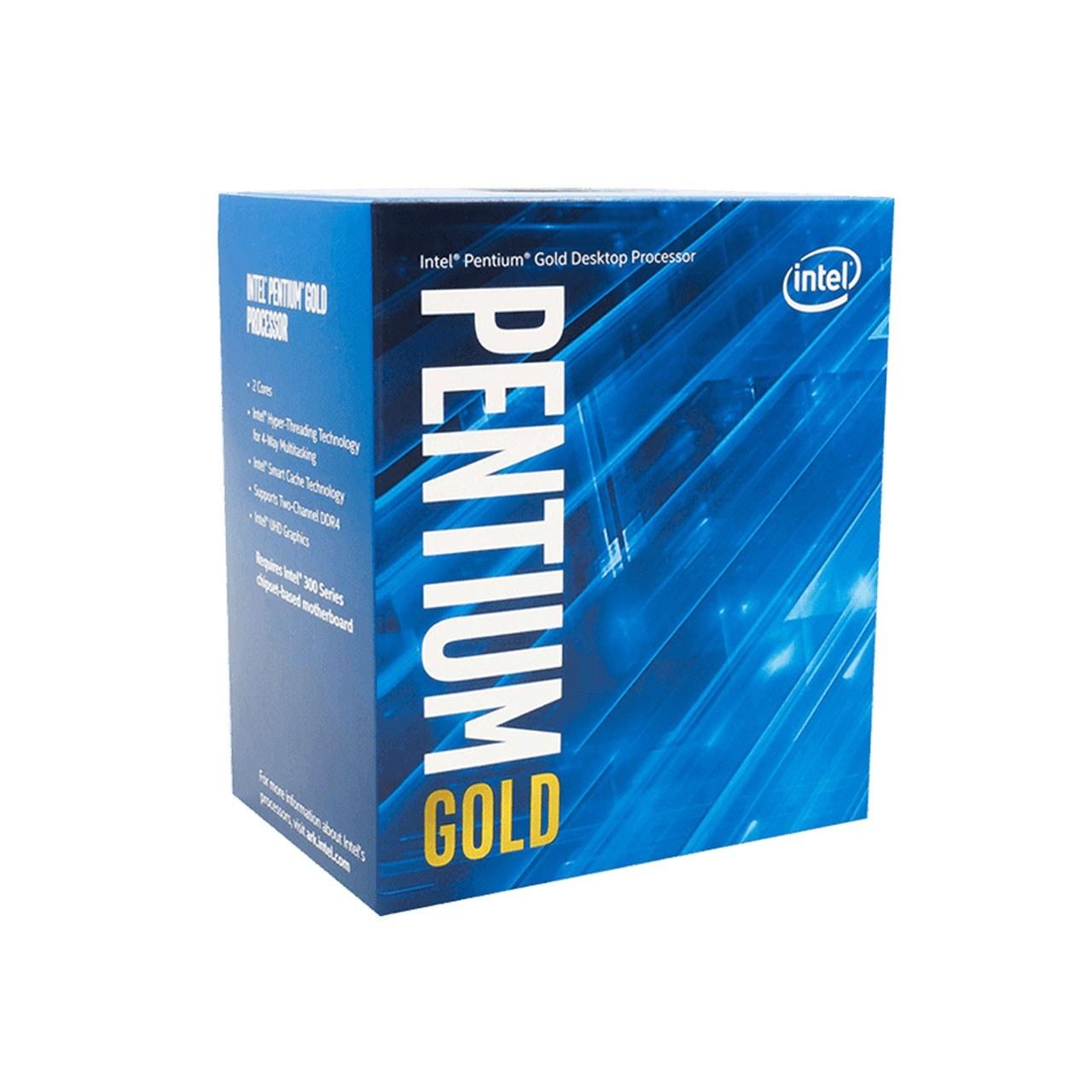 تصویر پردازنده CPU اینتل باکس مدل Intel Pentium Gold G5620 Box