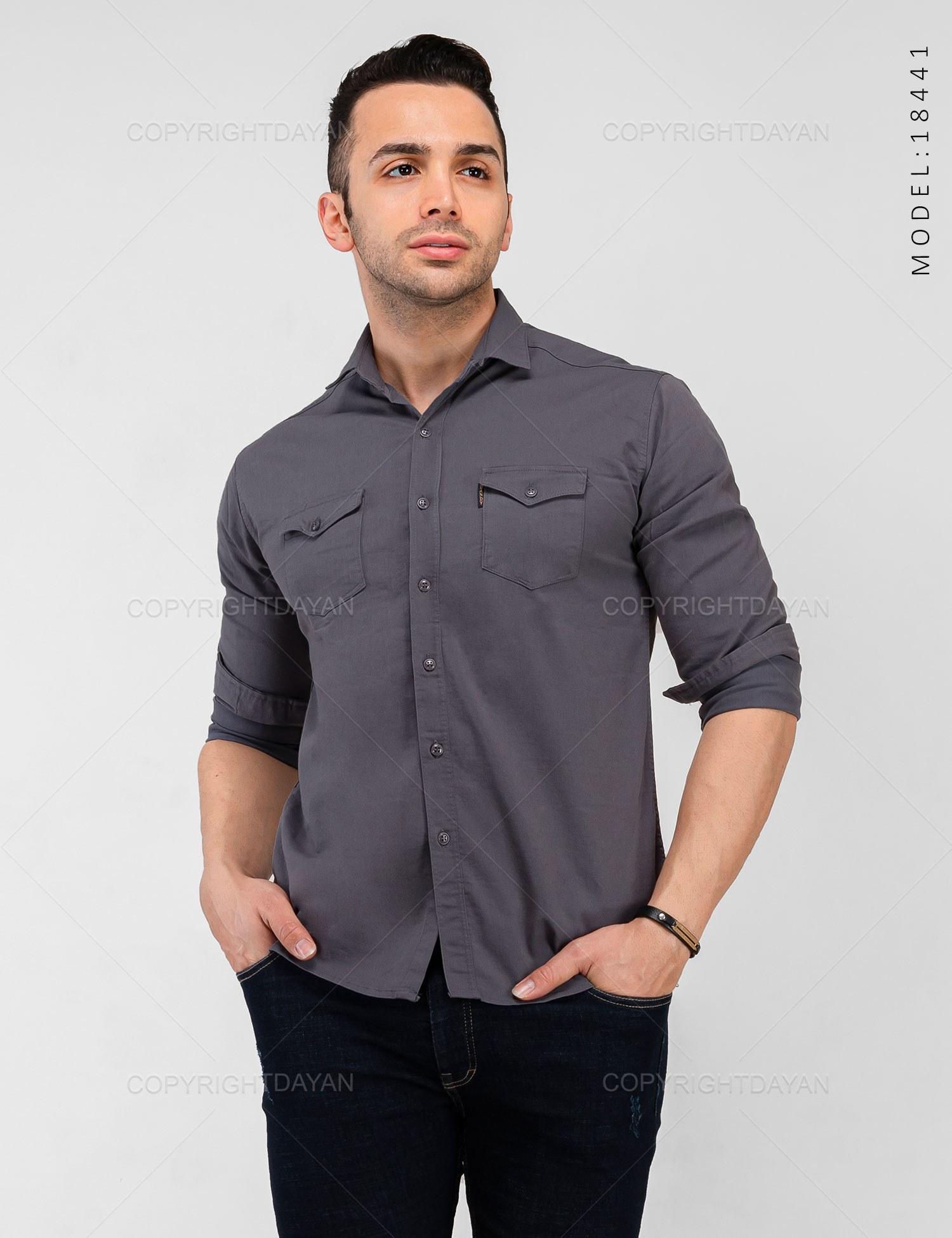 تصویر پیراهن مردانه Araz مدل 18441