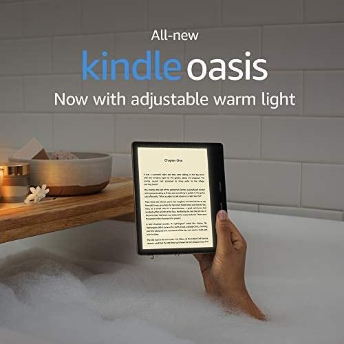 کتابخوان کیندل Oasis آمازون - با نور پس زمینه کم