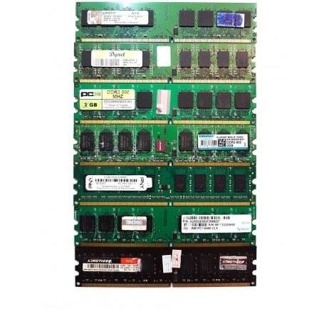 تصویر رم کامپیوتر DDR2 فرکانس 800 مگاهرتز ظرفیت 2 گیگابایت mix