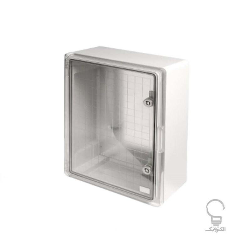 تصویر تابلو برق 25×70×50 سانتی متری درب شفاف دانوب