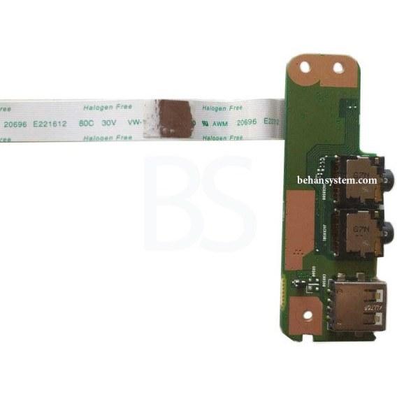 main images برد USB و جک صدا لپ تاپ FUJITSU مدل AH514