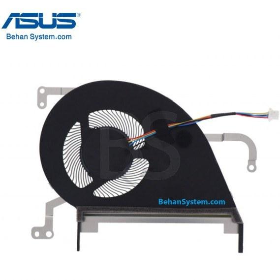 تصویر فن پردازنده لپ تاپ ASUS مدل X530 / X530U / X530UN / X530UA / X530UF ا چهار سیم / DC05V چهار سیم / DC05V