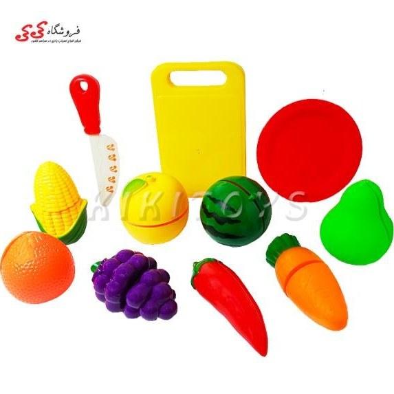 تصویر ست میوه اسباب بازی برشی- FROIT SLICE