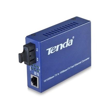 تصویر مبدل فیبر نوری به اترنت تک حالته تندا TER860S Tenda 10/100 Single-Mode Media Converter TER860S