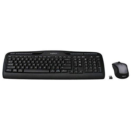 تصویر Logitech MK335 Wireless Keyboard and Mouse Combo - Black/Silver