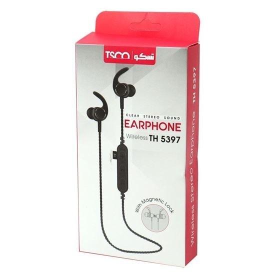 تصویر هندزفری تسکو TH 5397 ا Tsco TH 5397 Wireless Headset Tsco TH 5397 Wireless Headset