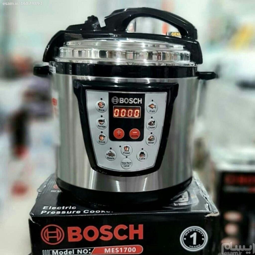تصویر زودپز و پلوپز برقی 10 کاره بوش مدل MES1700