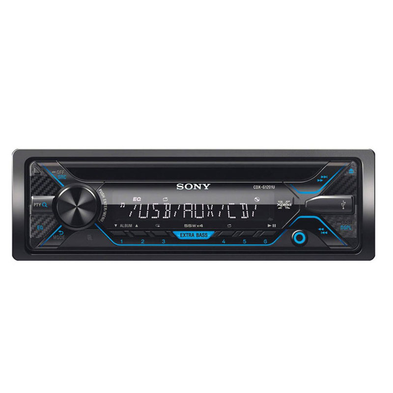 main images دستگاه پخش کننده خودرو سونی CDX-G1201U Sony Car Audio CDX-G1201U Sony Car Audio 4x55w