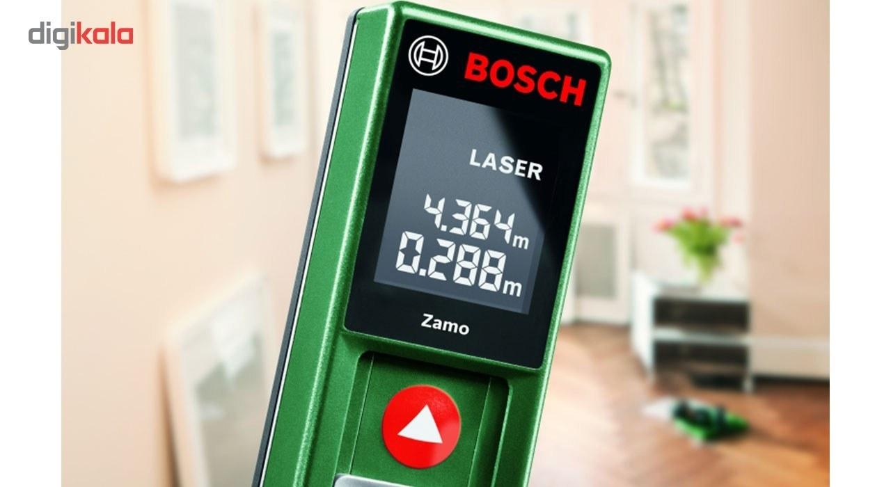 img متر لیزری بوش مدل Zamo Bosch Zamo Laser Distance Meter