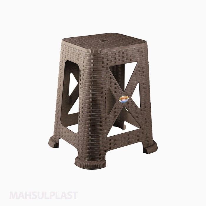 تصویر چهارپایه بلند حصیری مدل ۸۶۷ ناصر