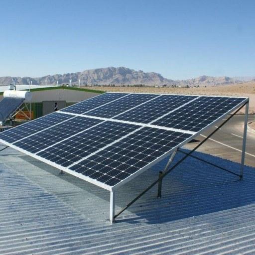 تصویر پنل خورشیدی برق خورشیدی سیستم خورشیدی