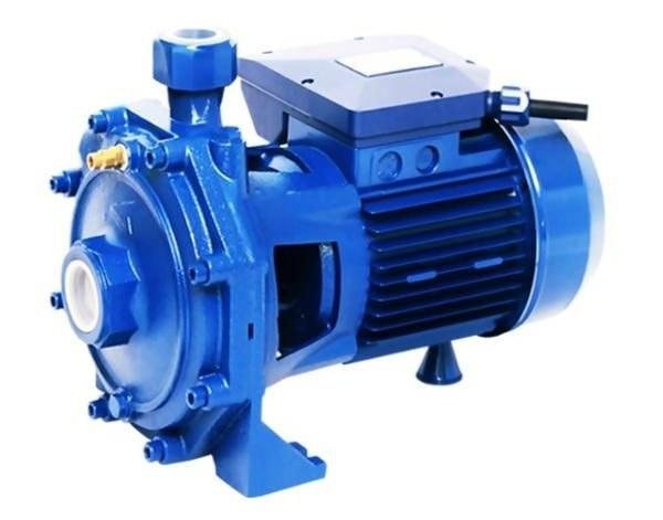 تصویر الکترو پمپ آب دوپروانه 2 اسب پنتاکس ایتالیا مدل CB210/00 water pump 2 Hp pentax cb210/00