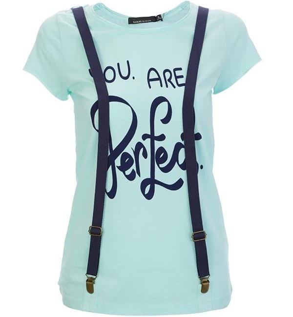 تی شرت زنانه ساموئل اند کوین