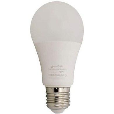 تصویر لامپ حبابی 9 وات نمانور